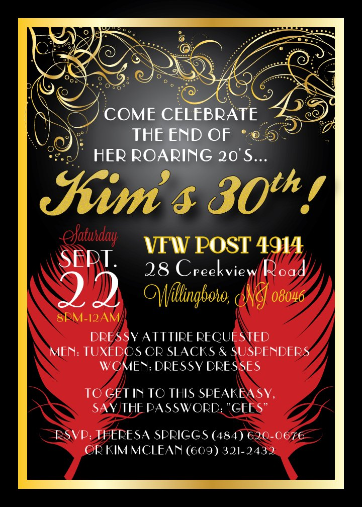 30th birthday invitations ideas free