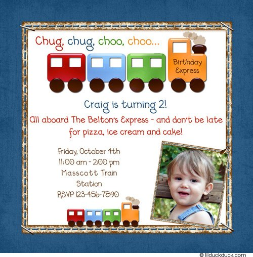 2nd birthday invitation card for baby