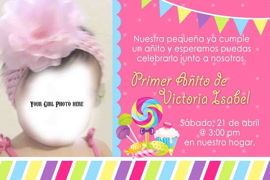 spanish birthday invitations free