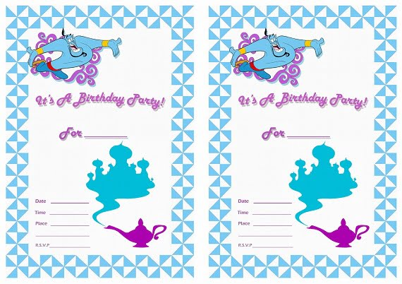 Free Kids Birthday Invitations – Bagvania FREE Printable