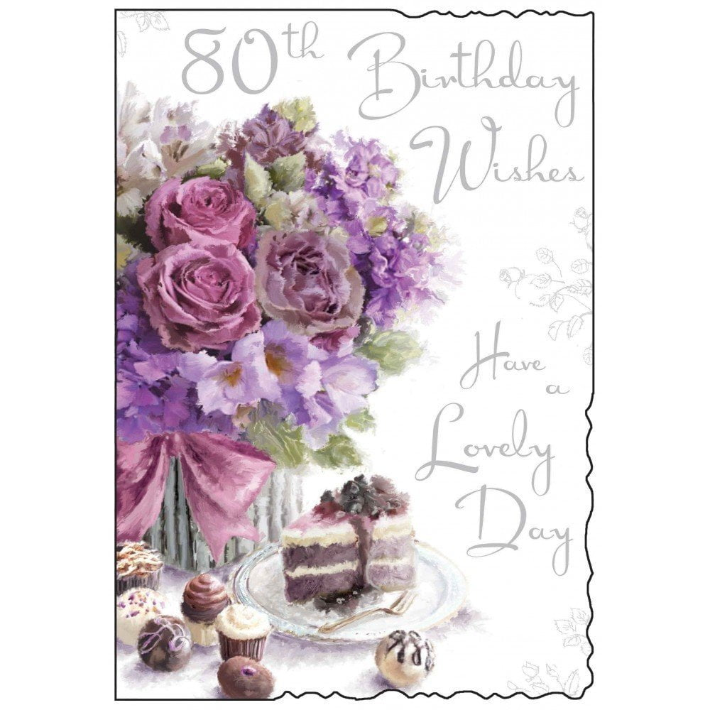 80th Birthday Cards Printable