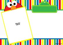 Free Printable Elmo Birthday Invitation Template Year Of Clean Water