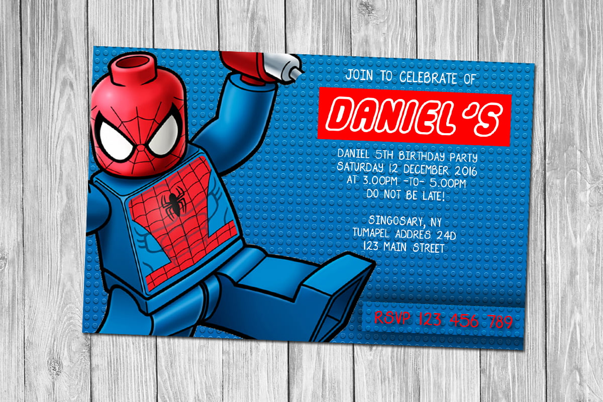 free printable superhero birthday