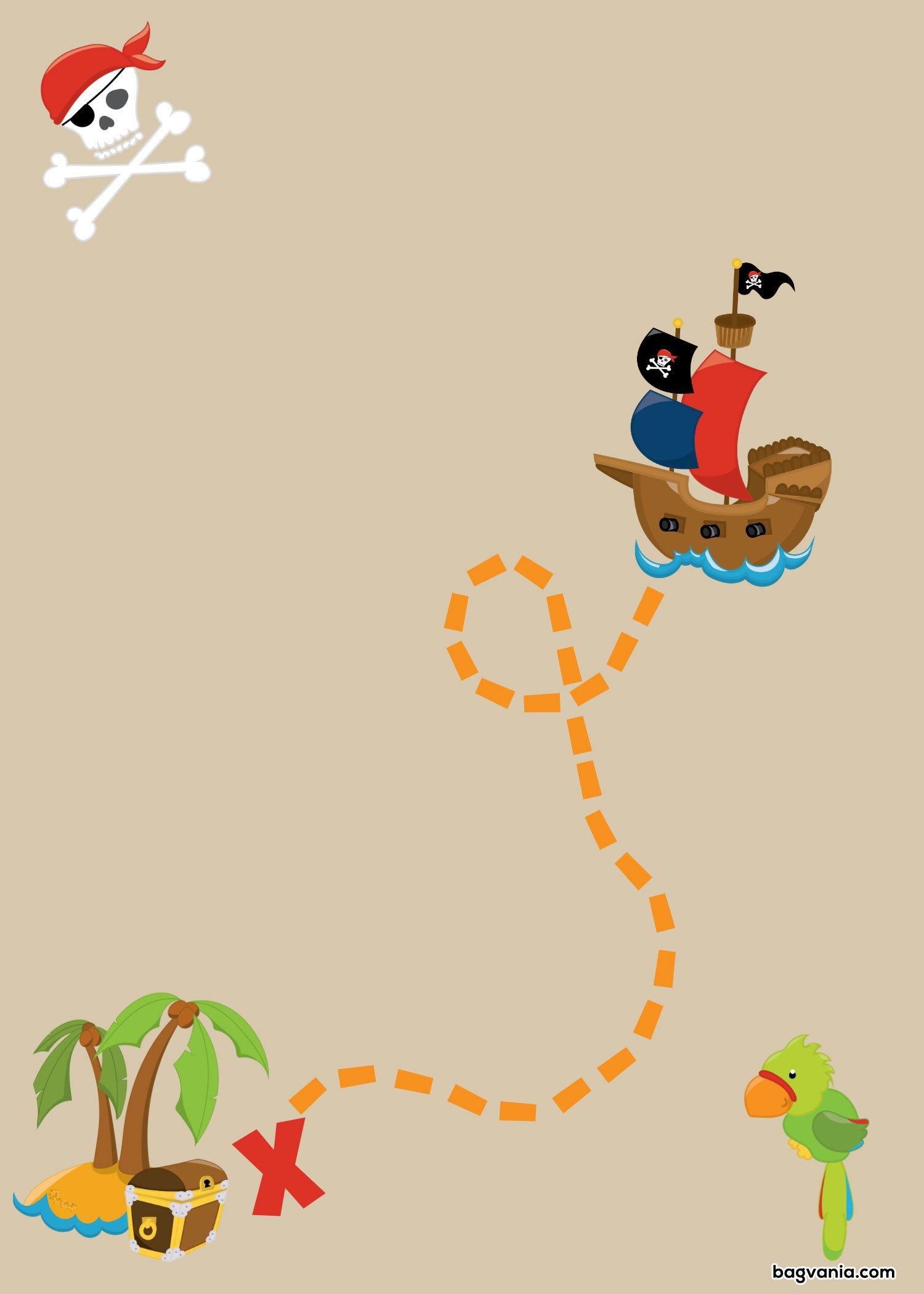 pirates birthday invitations free