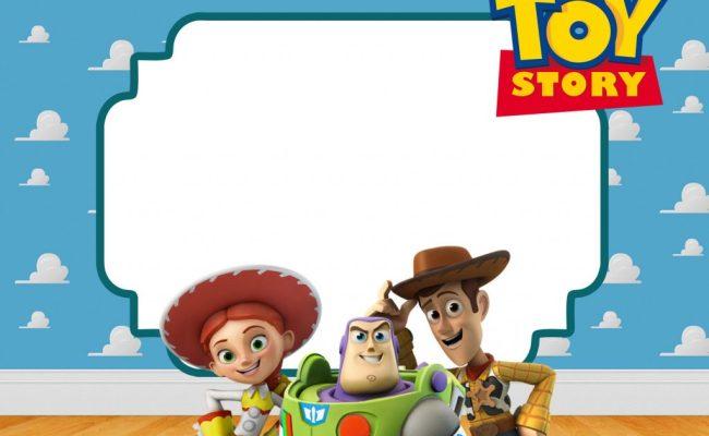 Free Printable Toy Story Birthday Invitations Bagvania