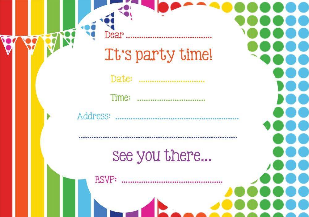 online free birthday invitations