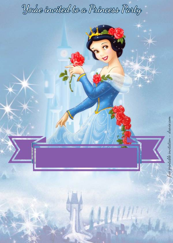 20 Snow White Invitation Template Pictures And Ideas On Meta Networks