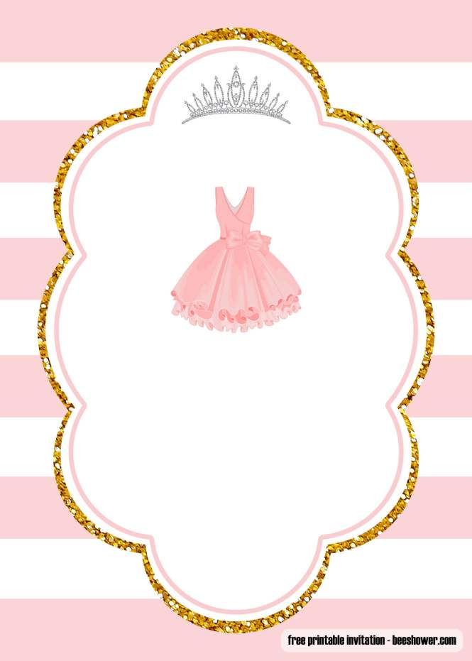 Free Ballerina Baby Shower Invitations Templates
