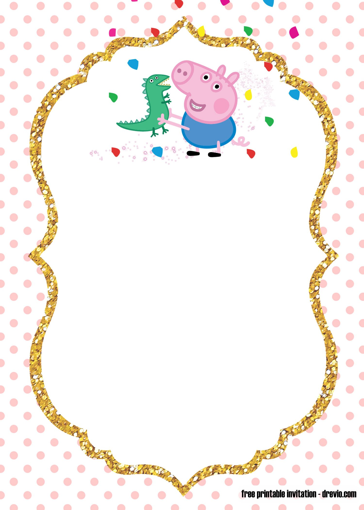 free printable fairy peppa pig