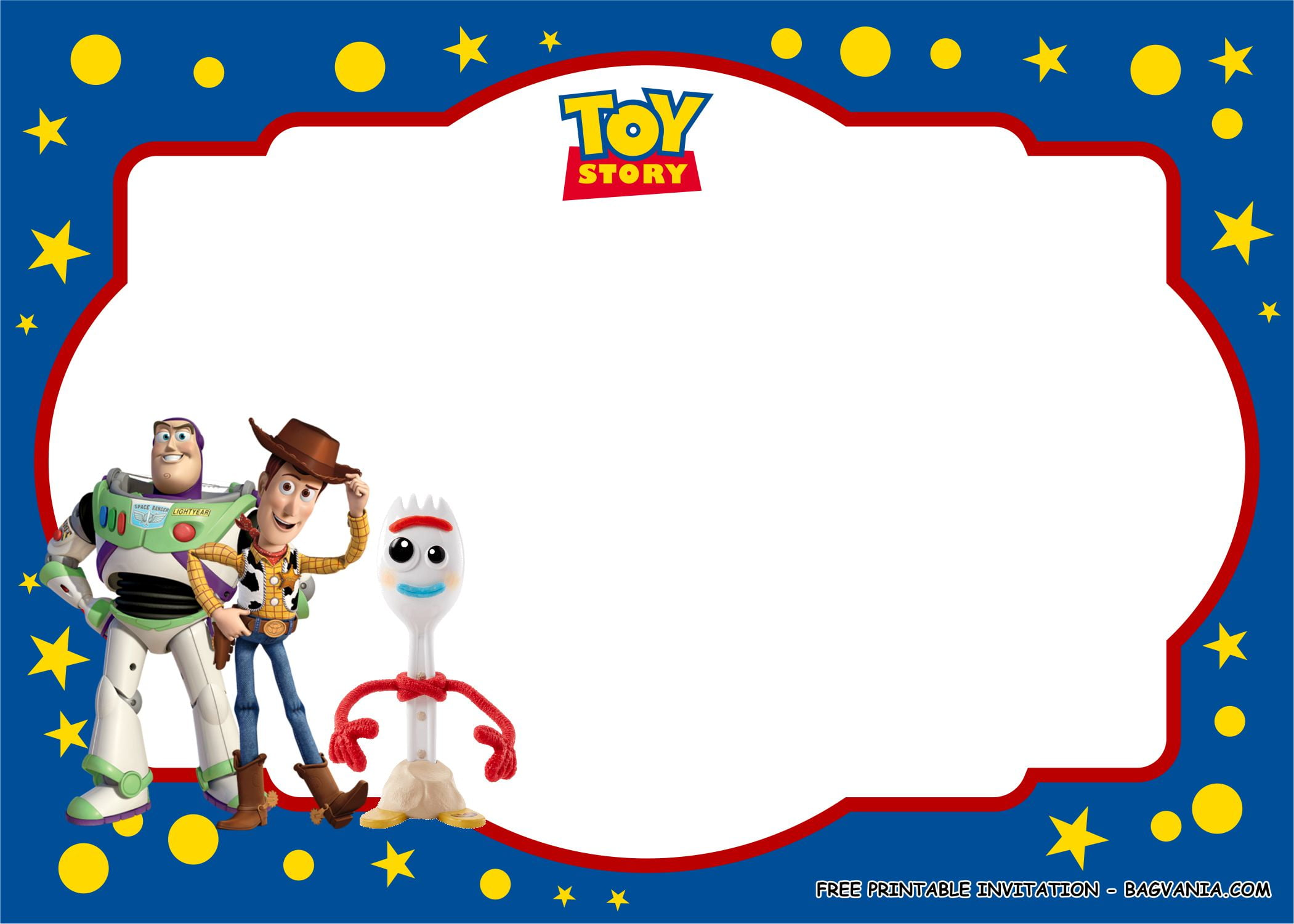 free printable toy story birthday party