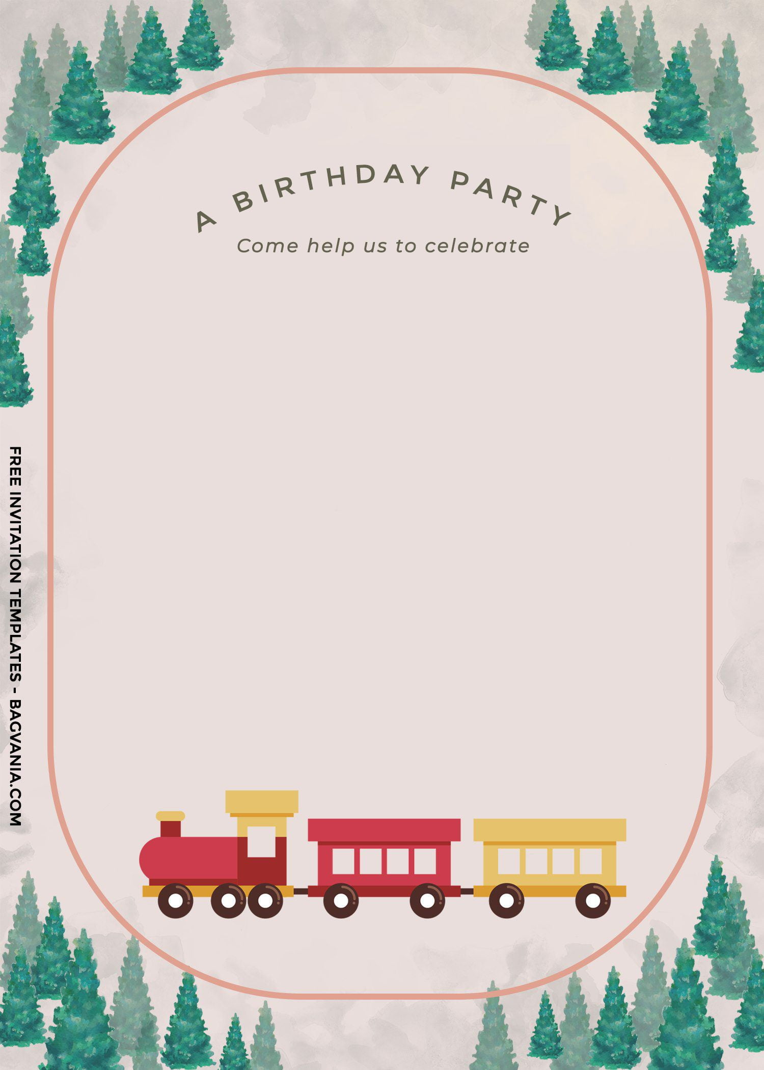8 cute vintage train themed birthday