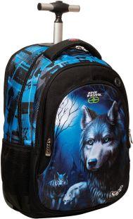 0313a1e8fd Τσάντα Δημοτικού Trolley No Fear Dark Wolfs BMU 347-21074