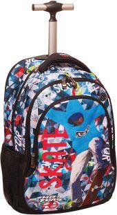 0f76a10726 Τσάντα Δημοτικού Trolley No Fear Color Skate BMU 347-43074