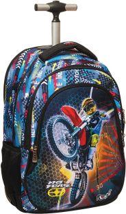 fd1c5a1caa Τσάντα Δημοτικού trolley No Fear Motocross BMU 347-44074