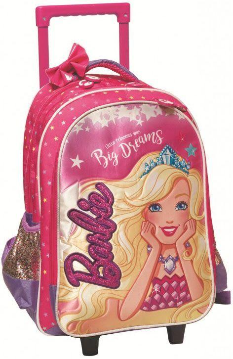 Τσάντα Trolley Νηπιαγωγείου Barbie Dreamtopia Gim 349-61072