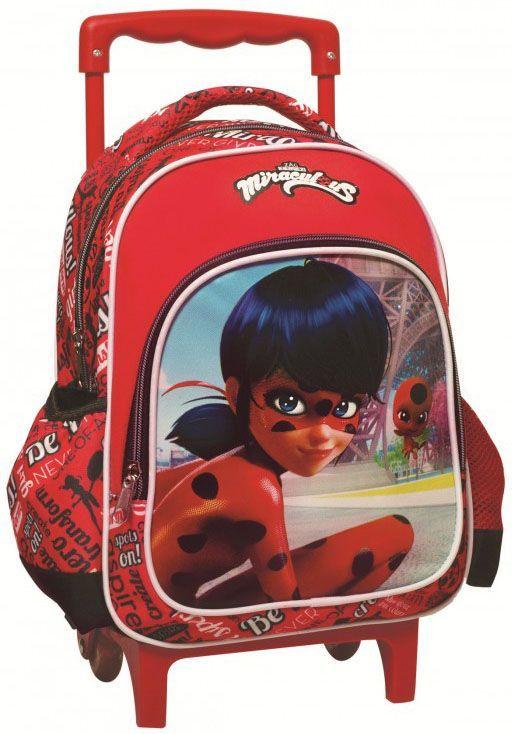 Τσάντα Trolley Νηπιαγωγείου Ladybug Paris Gim 346-01072