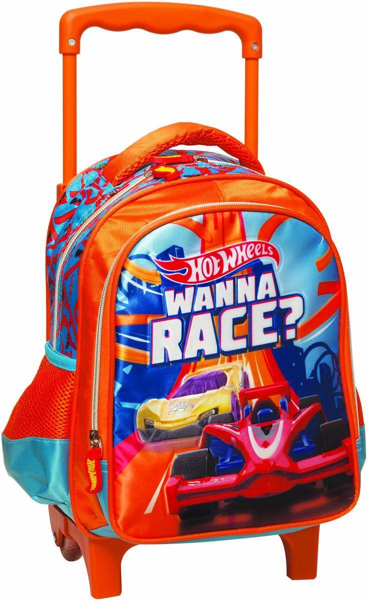 Τσάντα Trolley Νηπιαγωγείου Hot Wheels Gim 349-23072