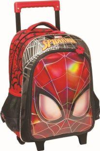 acf7c003cf1 Τσάντα Trolley Νηπιαγωγείου Spiderman Face Gim 337-73074