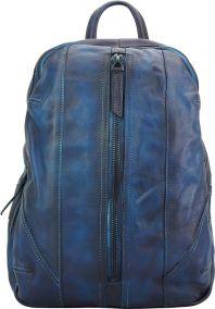 Δερμάτινη Τσάντα Πλάτης Armando Firenze Leather 68029 Σκουρο Μπλε