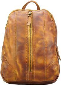 Δερμάτινη Τσάντα Πλάτης Armando Firenze Leather 68029 Μπεζ
