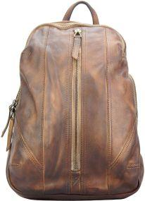 Δερμάτινη Τσάντα Πλάτης Armando Firenze Leather 68029 Καφε