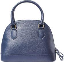 Δερματινη Τσαντα Χειρος Firenze Leather 9130 Σκουρο Μπλε