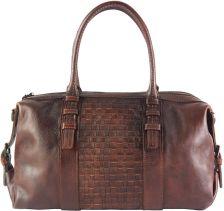 Δερμάτινη Τσάντα Χειρός Agnese Firenze Leather 68120 Καφε