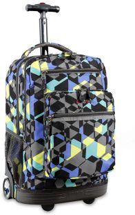 Τσαντα Τρολει Sundance Με Θηκη Laptop JWORLD 395-00002 90-Cubes