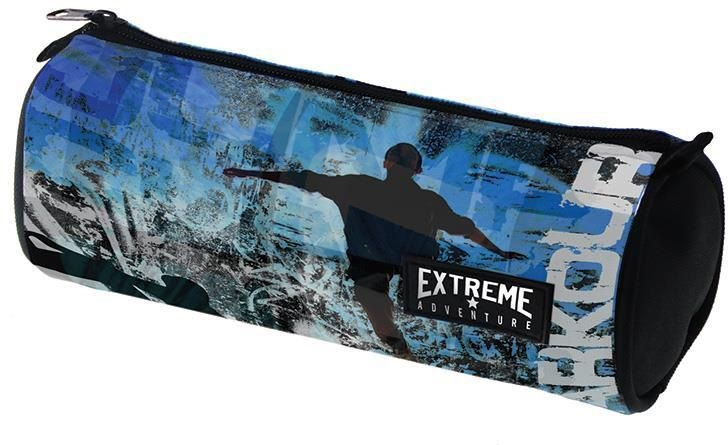 Κασετίνα βαρελάκι 21x8 εκ. Extreme 28753