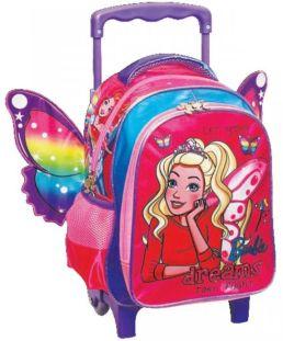f628aad34c Τσάντα Trolley Νηπιαγωγείου Barbie Dreamer GIM 349-58072