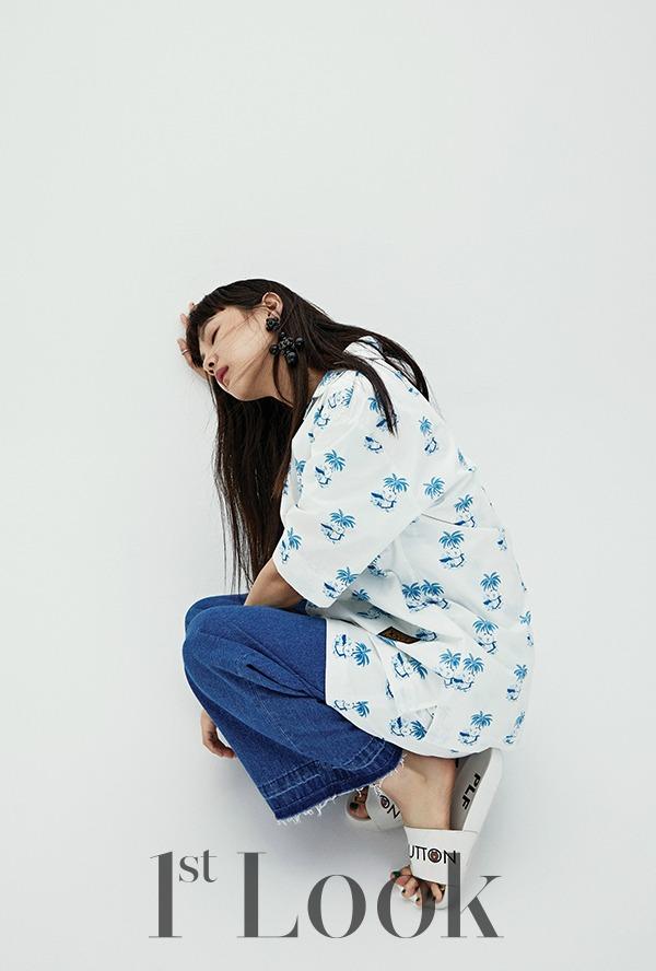Yoon Sung-ah 윤승아 for fashion brand PLF