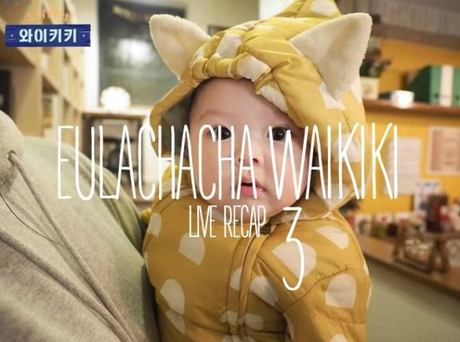 Live recap for Kdrama Waikiki