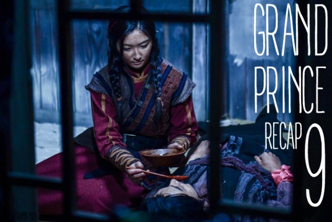 Live recap for episode 9 of the Korean drama Grand Prince starring Yoon Shi-yoon and Jin Se-yeon