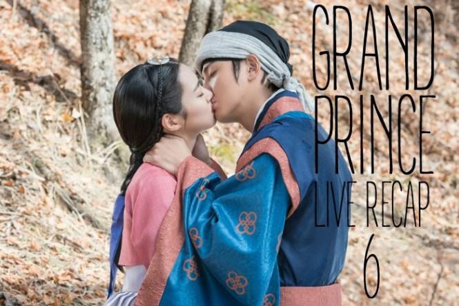 Live recap for episode 6 of the Korean drama Grand Prince starring Yoon Shi-yoon and Jin Se-yeon
