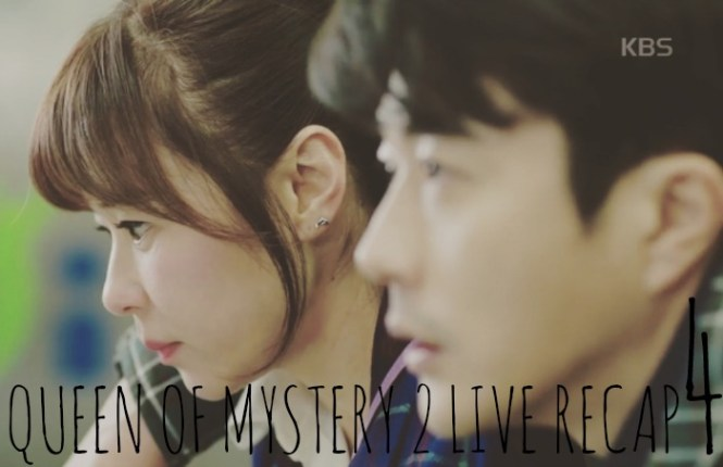 Live Recap for episode 4 of the Kdrama Queen on Mystery Season 2 starring Choi Kang Hee and Kwang Sang Woo