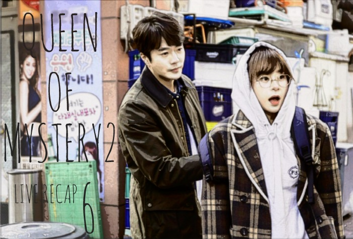 Live Recap for episode 6 of the Kdrama Queen on Mystery Season 2 starring Choi Kang Hee and Kwang Sang Woo