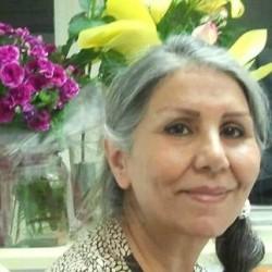 Mahvash Sabet, ancienne membre du groupe des Yaran. Son emprisonnement injuste et douloureux a pris fin le lundi 18 de ce mois.