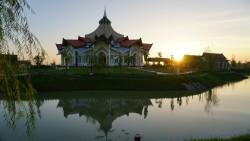 Maison d'adoration bahá'íe à Battambang au Cambodge