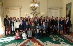 Le président Michael D. Higgins a organisé cette semaine une réception pour les représentants de la communauté bahá'íe d'Irlande.