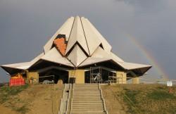 Les principaux éléments structuraux du temple du Norte del Cauca sont achevés.