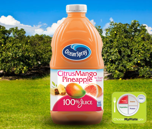 100% Juice Citrus Mango Pineapple