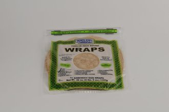 Wrap Tortilla Whole Wheat 12″