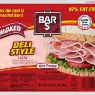Smoked Sliced Ham 4x6 Deli Style
