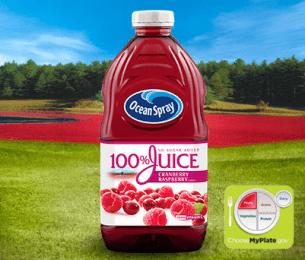 100% Juice Cranberry Raspberry