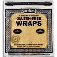 "Tortilla Wrap Gluten Free 9"""