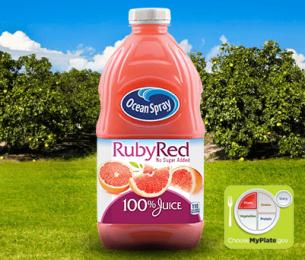 100% Juice Ruby Red Grapefruit Blend
