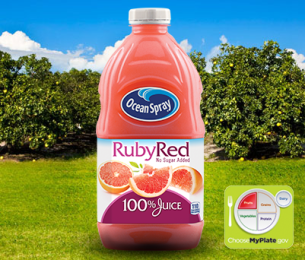 100% Juice Ruby Red Grapefruit Blend