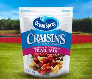Craisins Dried Cranberries Trail Mix Cranberries & Chocolate