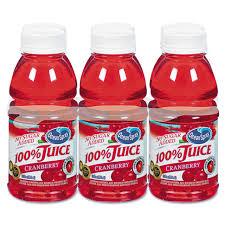 100% Juice Cranberry