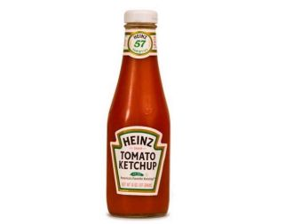 Ketchup, Glass Bottle FOH